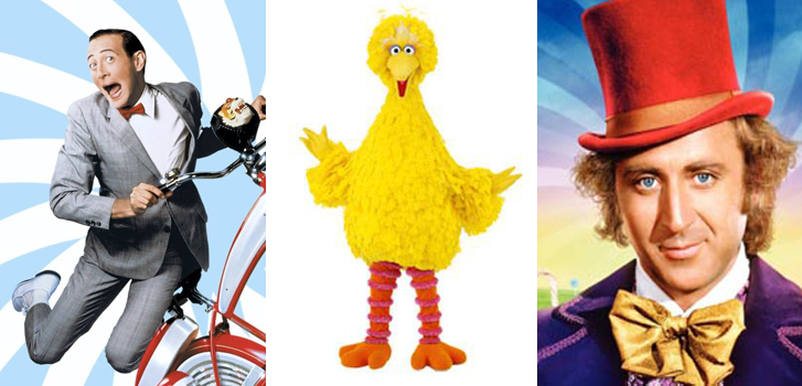From Big Bird to Willy Wonka: Check out our Featured Family Favourites for July!
