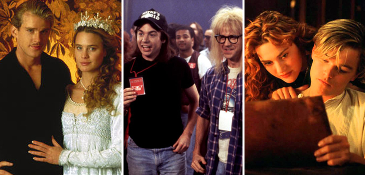 Classics like The Princess Bride, Titanic, and Wayne's World in our February Events Guide!