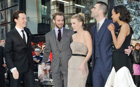 Star Trek Into Darkness premiere