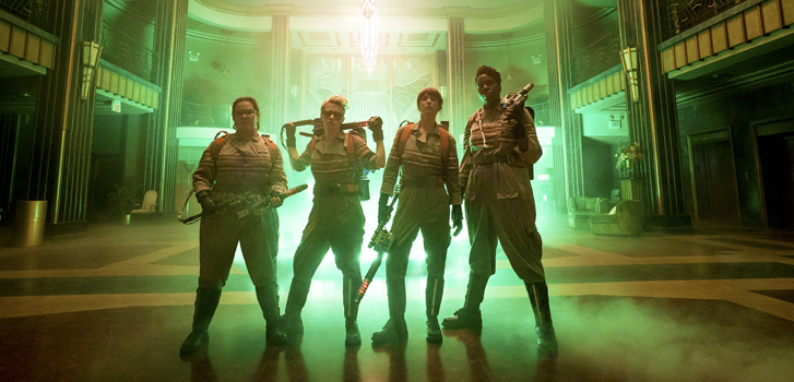 Get to know the new Ghostbusters in 4 new featurettes