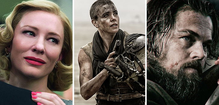 Fury Road, The Revenant, and Carol dominate Golden Globe nominations