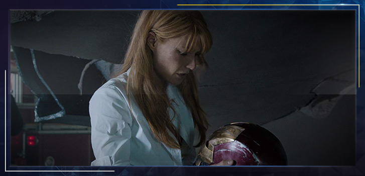 Gwyneth Paltrow as Pepper Potts: She's no pushover!