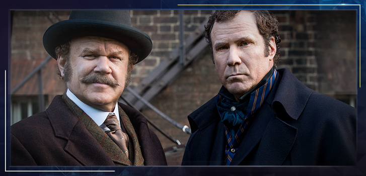 Holmes & Watson Social Contest