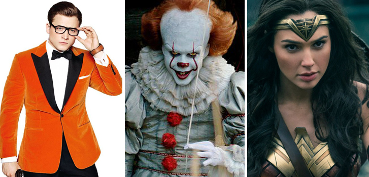 What will be the top 5 movie-related Halloween costumes of 2017?