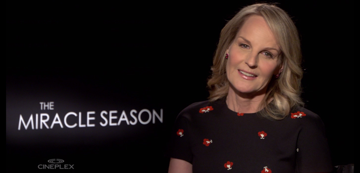 Helen Hunt and the cast on the inspiring true story behind The Miracle Season