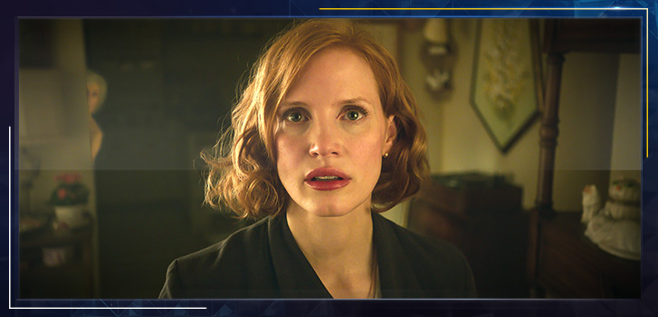 Jessica Chastain explains why her performance in IT Chapter Two is rooted in fearlessness