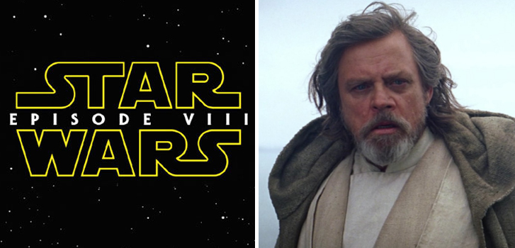 Star Wars Episode VIII title revealed, The Comedian clips and more make our daily round-up