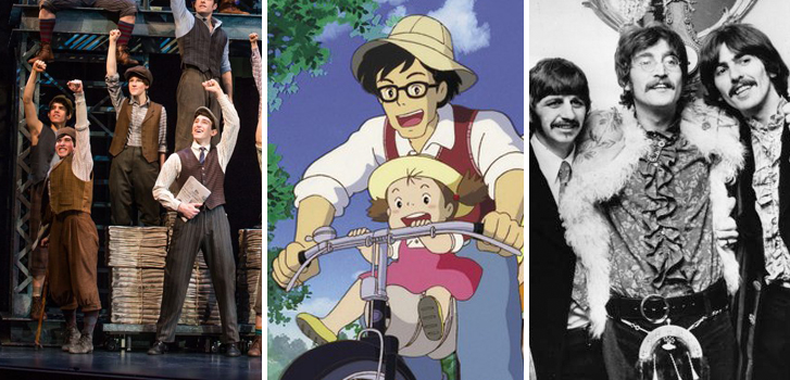Disney's Newsies, My Neighbor Totoro and Deconstructing the Beatles make our July Events list!