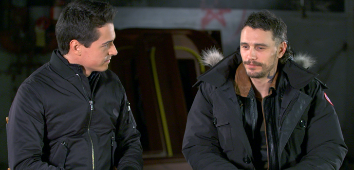 James Franco calls Kin an exciting mashup of action, sci fi and drama