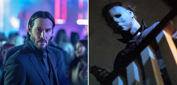 John Wick: Chapter 3, Halloween and The Girl in the Spider's Web are coming to theatres!
