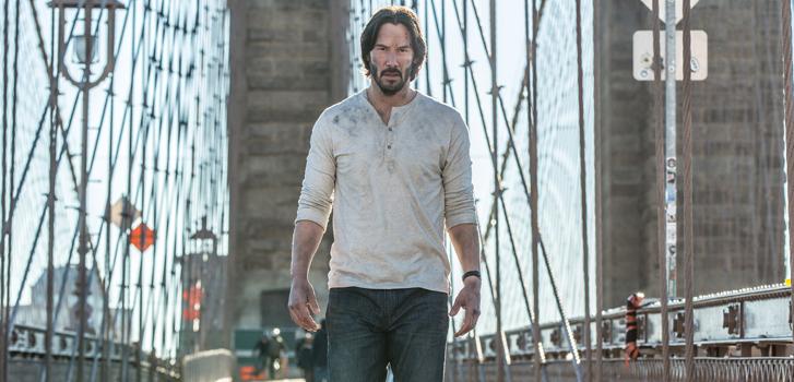 Homme en noir: Entrevue avec Keanu Reeves