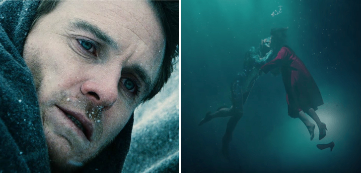 The Snowman and The Shape of Water both get new trailers in today's roundup