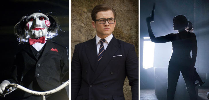 Kingsman: The Golden Circle, Wonderstruck, and Jigsaw top our movie news roundup today