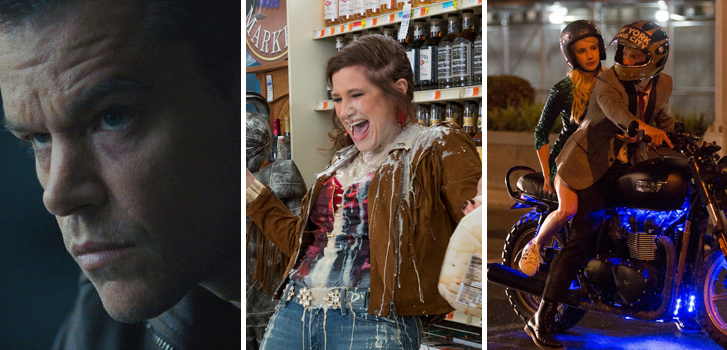 Jason Bourne, Bad Moms and Nerve top @TannerZee's list of what to watch this weekend!