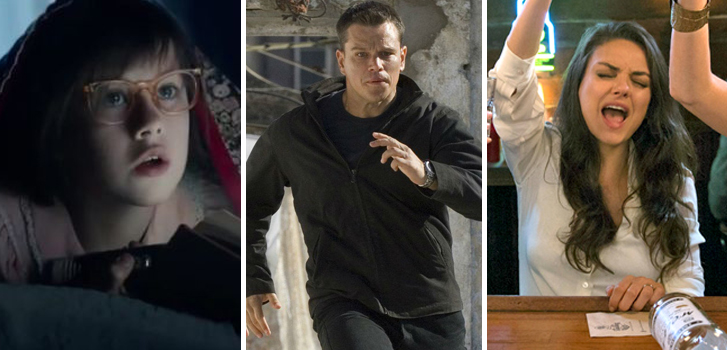 The BFG, Bad Moms, and Jason Bourne top our list of what to watch in July