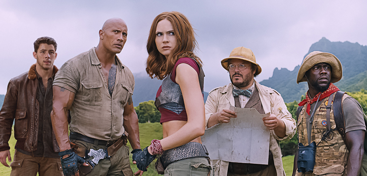 Five reasons to see Jumanji: Welcome to the Jungle