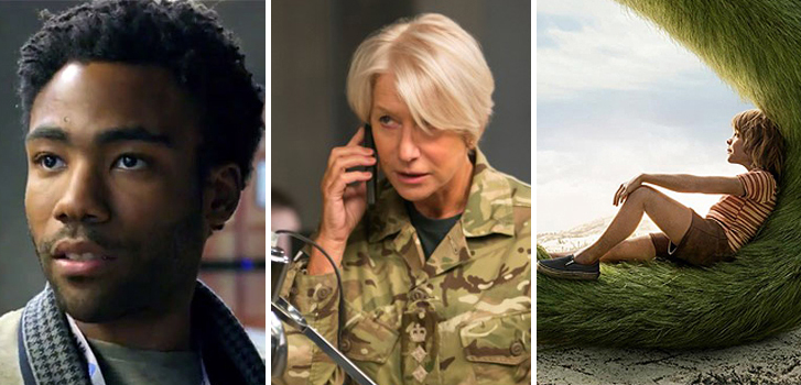 Donald Glover joins Spiderman, Helen Mirren in Fast 8 and Pete's Dragon Trailer top our weekly news roundup