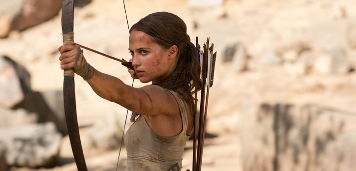Tomb Raider takes video game movies to the next level