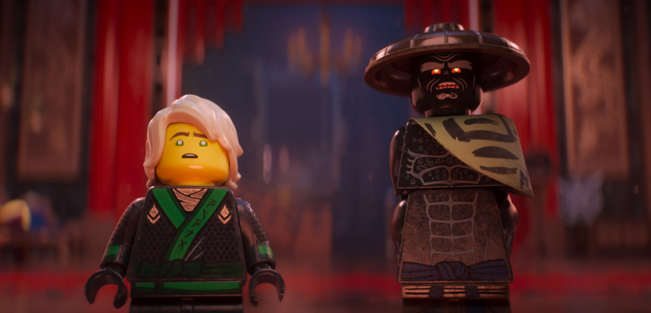 The Lego Ninjago Movie: Dave Franco and Justin Theroux reveal their troubled father-son dynamic