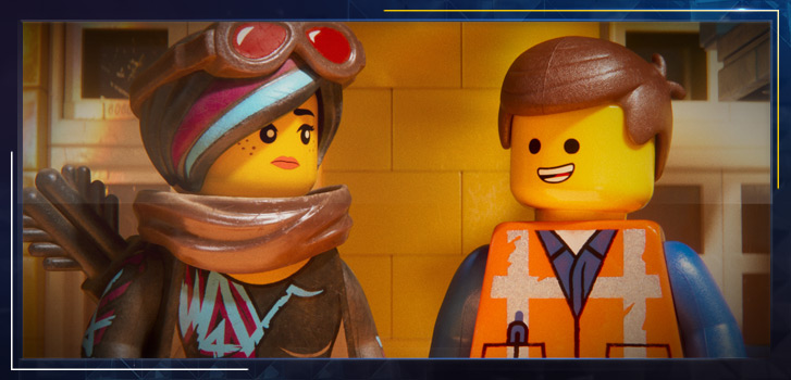Need a dose of positivity this winter? Emmet has all the optimism you need in The Lego Movie 2: The Second Part