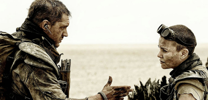 tom hardy, charlize theron, mad max fury road, image