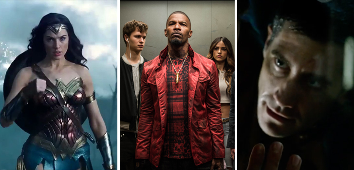 New trailers for Wonder Woman, Baby Driver and clips from Life make our daily roundup!