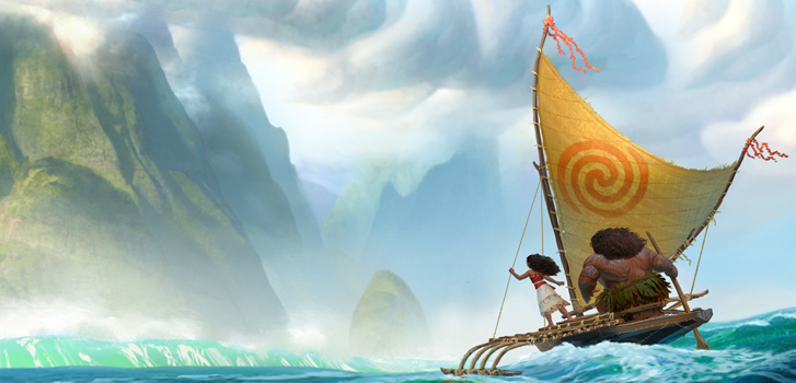 New Moana trailer sees Dwayne Johnson setting sail for a mythical island