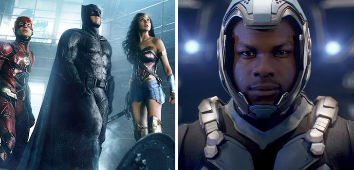 Justice League and Pacific Rim Uprising top our movie news roundup!