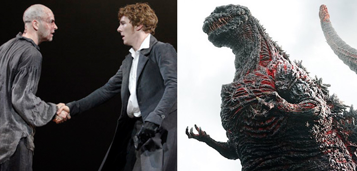 Godzilla, Batman, and Benedict Cumberbatch top the list of Cineplex Events in October