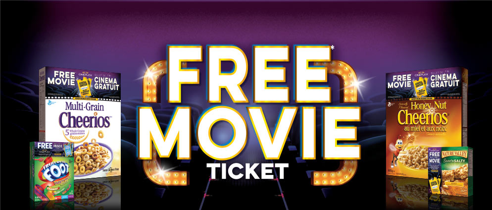 Free Movie Tickets*