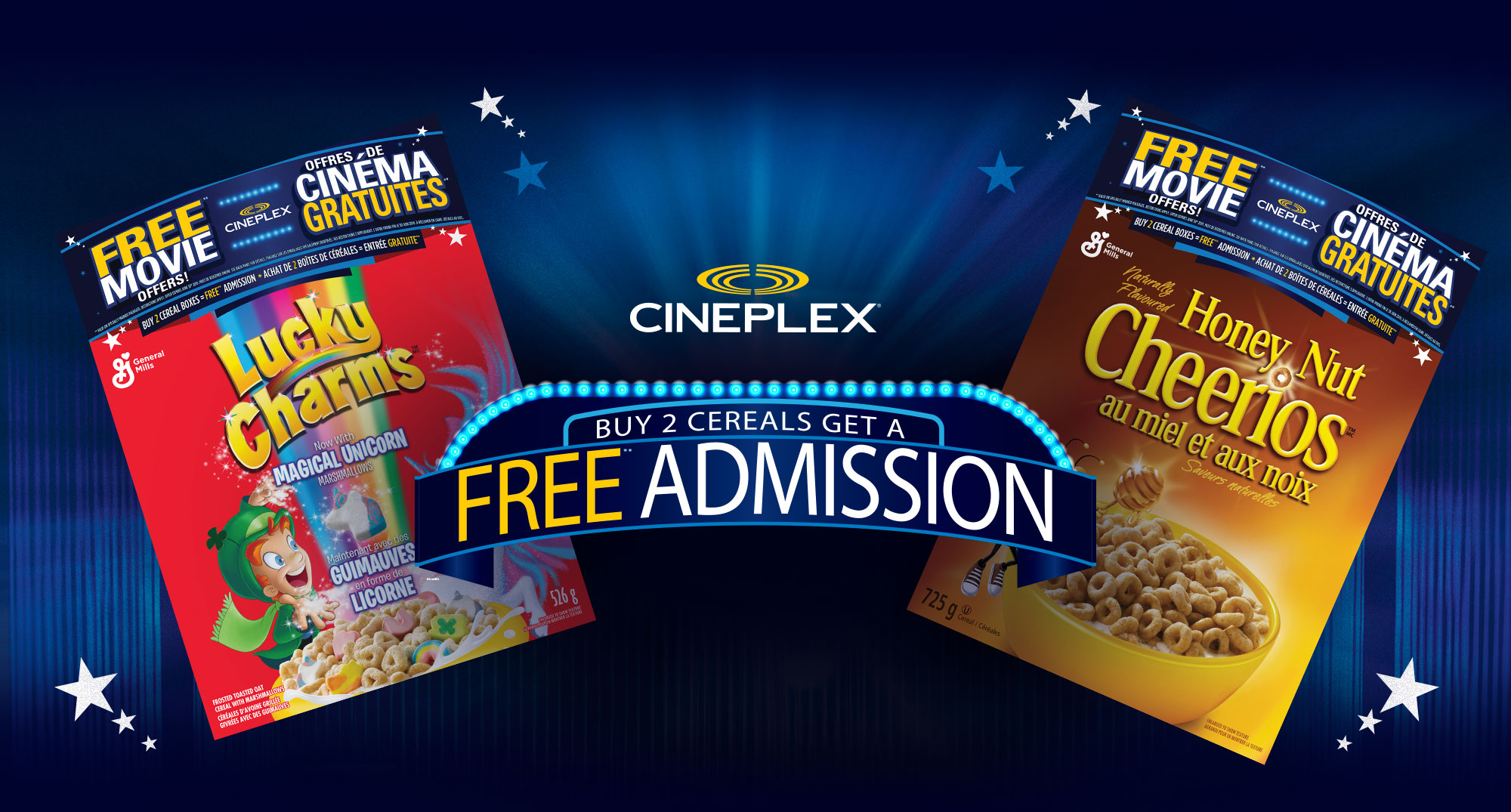 Cineplex com | General Mills Promotions
