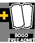 Bogo Free Admit
