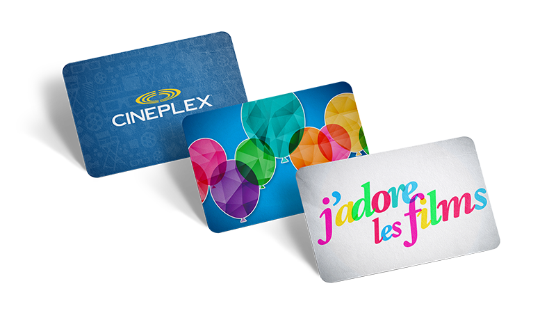 Carte Cadeau Cineplex.Cineplex Com Pochette Cadeau Cinema