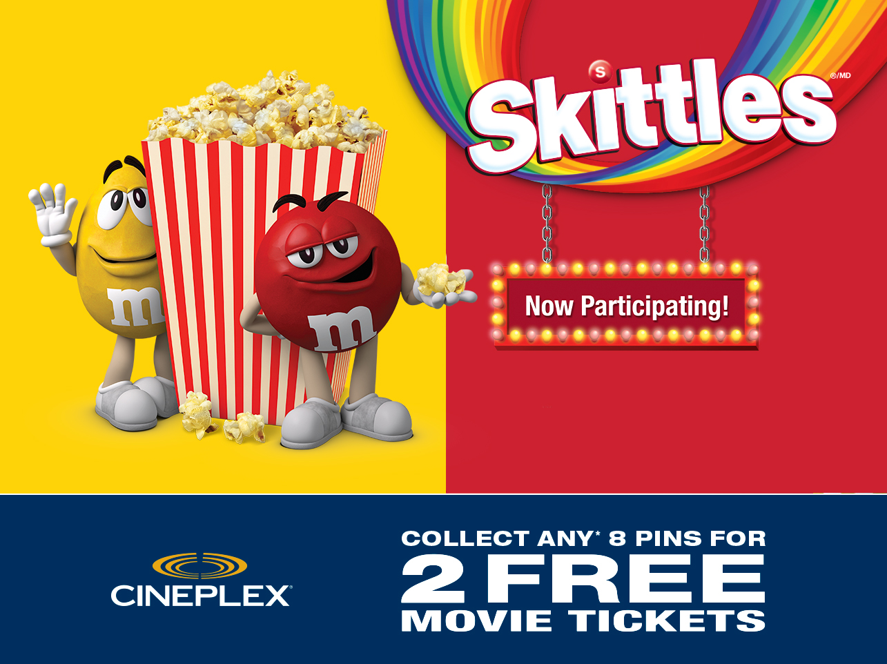 M&m movie contest
