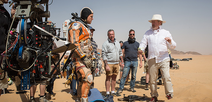 Space Man: Ridley Scott talks The Martian