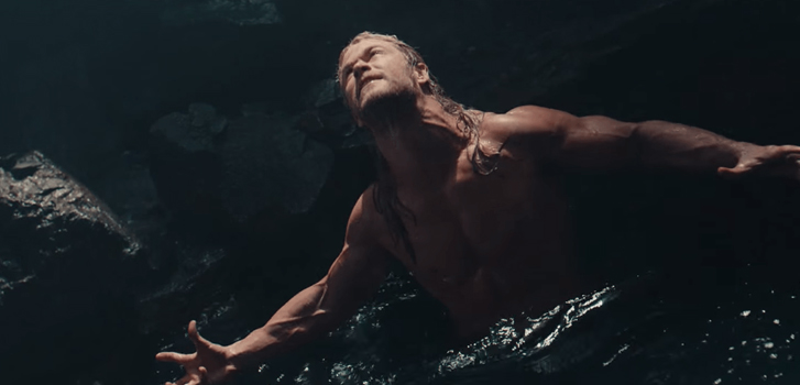 Thor goes shirtless in deleted scene from The Avengers: Age of Ultron