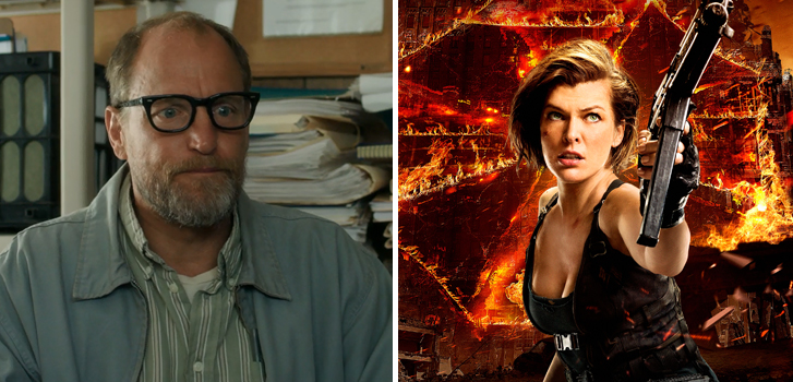 Wilson, Resident Evil: The Final Chapter, Ocean's Eight casting news and more make our daily round-up