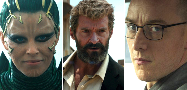 New Logan and Power Rangers trailers, Split featurettes and more make our weekly round-up