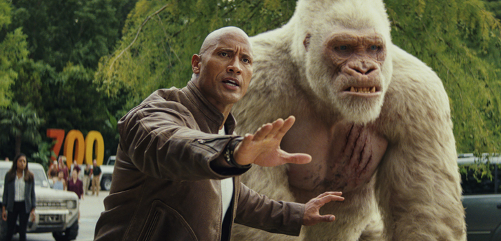 Getting ready for Rampage with our favourite moments from Dwayne