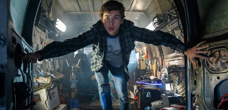 Ready Player One star Tye Sheridan on creating the virtual world The OASIS for the big screen