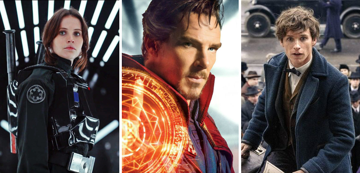New Rogue One, Doctor Strange and Fantastic Beasts trailers make our weekly news roundup