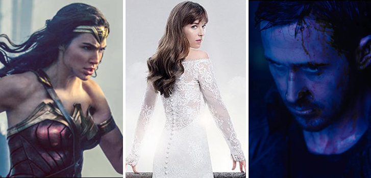 Wonder Woman 2, Fifty Shades Freed and Blade Runner 2049 top our movie news today!