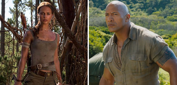 Tomb Raider and Jumanji top our movie news roundup!