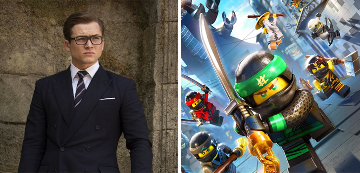 Kingsman: The Golden Circle and The Lego Ninjago Movie tops our What to Watch weekend preview