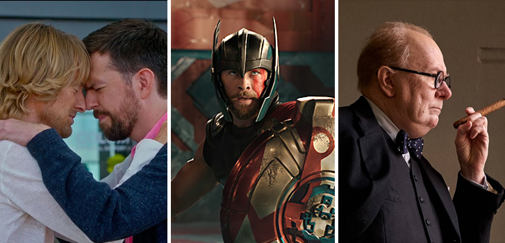 Thor: Ragnarok, Darkest Hour, and Father Figures make up our daily news roundup!