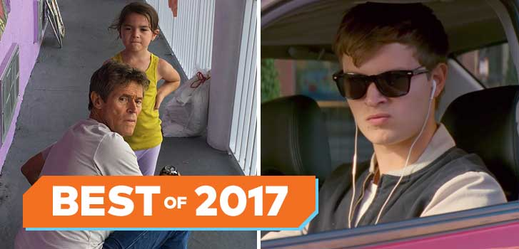 The Florida Project, Baby Driver and more top our 2017 Cineplex Staff Picks