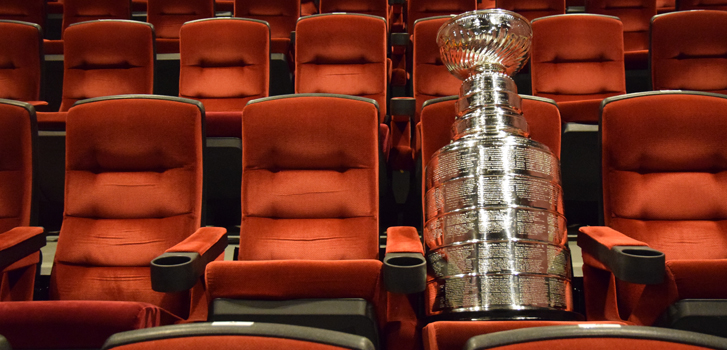 Lord Stanley's Cup makes a surprise appearance at Cineplex!