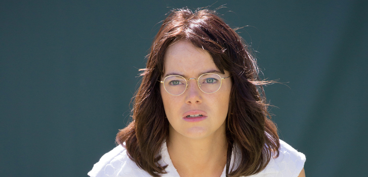Battle of the Sexes' Emma Stone on learning to become a tennis champ