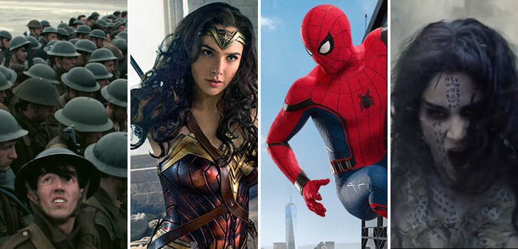 Dunkirk, Wonder Woman, Spiderman: Homecoming and The Mummy top our Summer Movie Preview guide