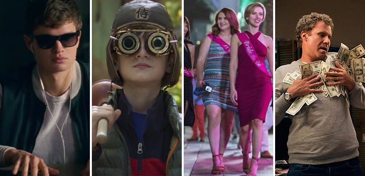 Baby Driver, The Book of Henry, Rough Night and The House make our Summer Movie Preview Part 2!